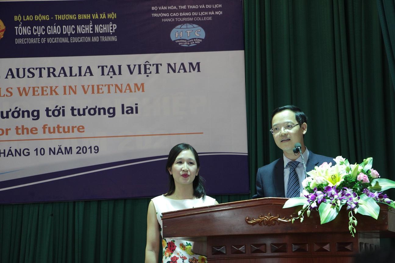 1. Phó Tổng Cục trưởng Trương Anh Dũng phát biểu Khai mạc